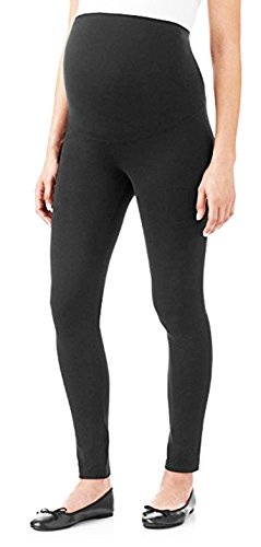 31eLrFUE4dL - Maternity Pregnant Women Leggings -Maternity Clothes - Stretch Material Tights (ONE SIZE FITS ALL (MATERNITY), Black)