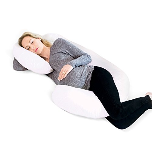 Restorology Full 60-Inch Body Pregnancy Pillow – Maternity & Nursing Support Cushion and Body Pillow with Washable Cover