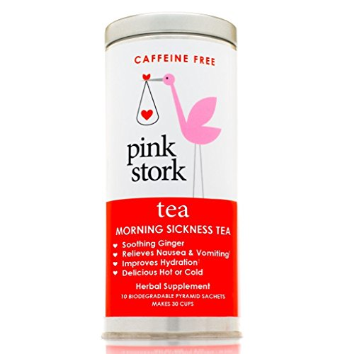 419B 2RoVSL - Pink Stork Pregnancy Tea for Morning Sickness Relief, 30 Cups