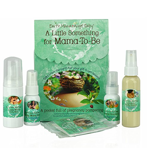 51 w ArIyZL - Earth Mama A Little Something For Mama-To-Be Organic Pregnancy Gift Set, 5 Piece