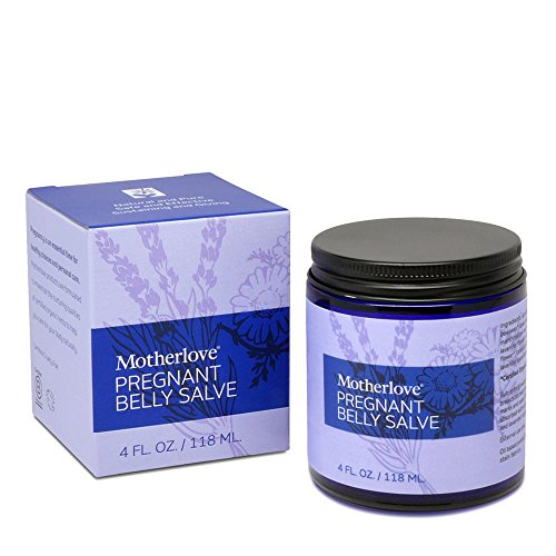 51UG15M2rPL - Motherlove Pregnant Belly Salve with Organic Shea Butter for Stretch Mark Prevention, 4 oz Jar